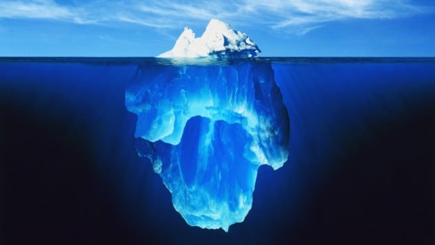 """12 ways to find sales from the LinkedIn """"iceberg"""""""