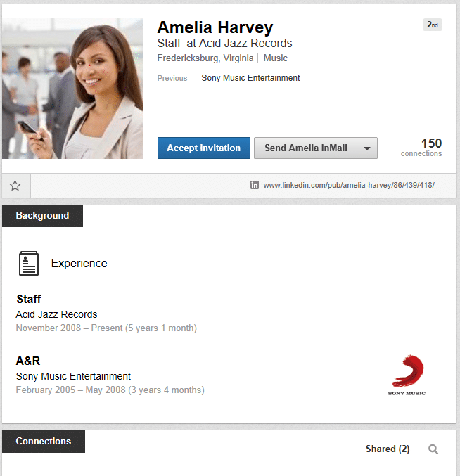 how to spot a fake profile on linkedin the linked in man. Black Bedroom Furniture Sets. Home Design Ideas