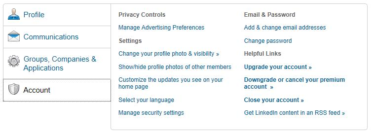 How to close and delete your LinkedIn account - The Linked