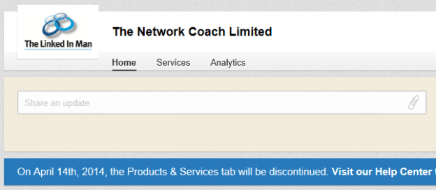 LinkedIn kills products and services tab but …