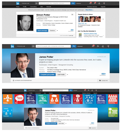 LinkedIn gives big picture push to Premium Profiles