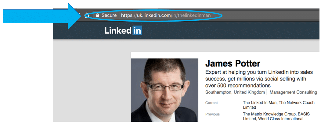 How to find the website url link for your linkedin profile for How to buy websites